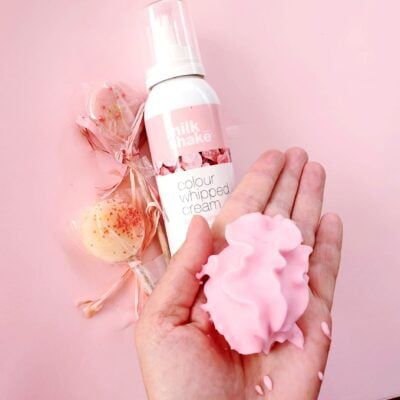 z.one.concept, milk shake colour whipped cream rose