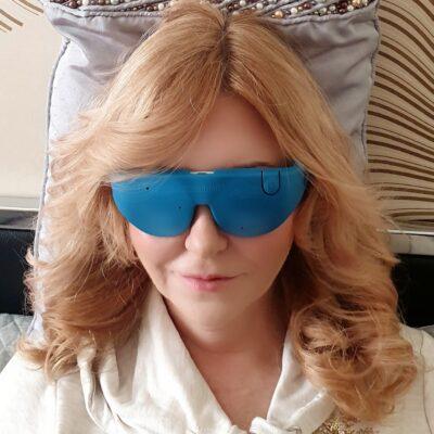 Mnemosline® – okulary leczące światłem LED
