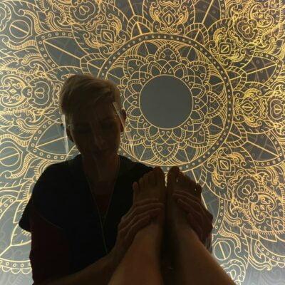 Holispace - peeling L-peel Purles i masaż stóp
