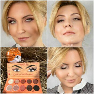 Ingrid Cosmetics, Paleta cieni Foxy Eyes